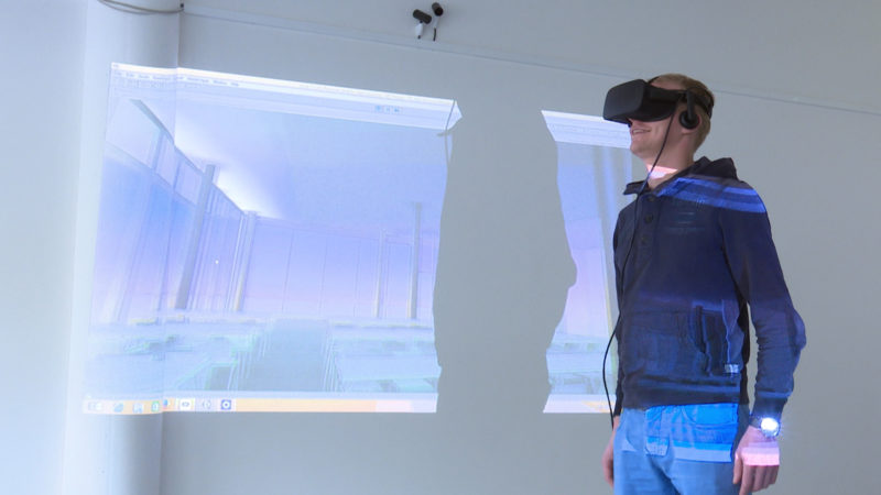 Studieren mit Virtual Reality (Foto: SAT.1 NRW)