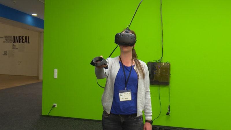Virtual-Reality-Ausstellung (Foto: SAT.1 NRW)