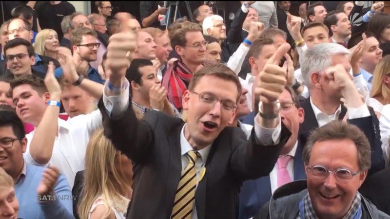 Hinter den Kulissen der NRW-Landtagswahl (Foto: SAT.1 NRW)