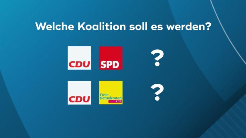 Umfrage: Zukünftige Landesregierung in NRW (Foto: SAT.1 NRW)
