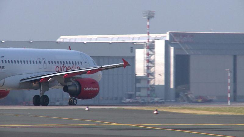 Air Berlin: Was tun bei Flugausfällen und Verspätungen? (Foto: SAT.1 NRW)