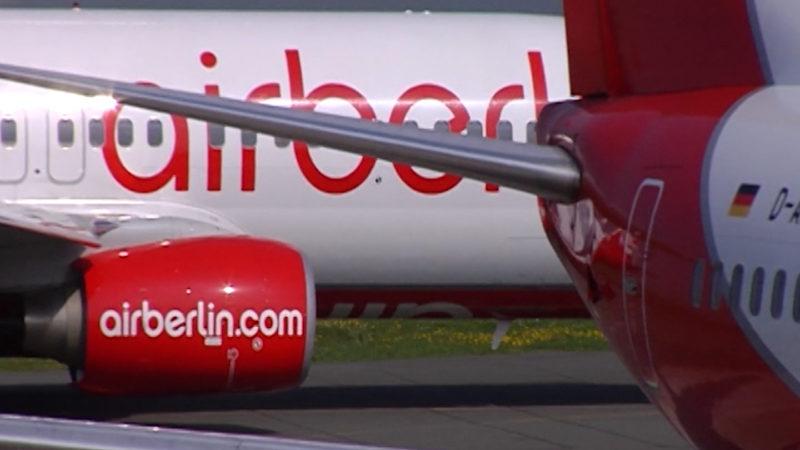 Air Berlin: Bund prüft Bürgschaftsanfrage (Foto: SAT.1 NRW)