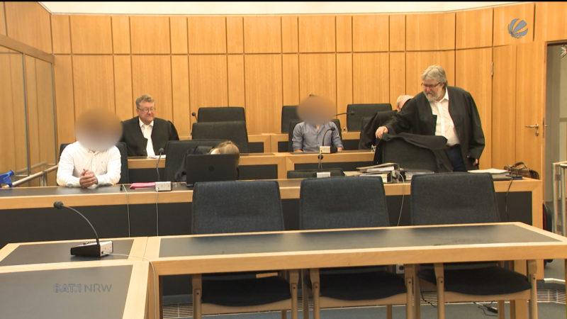 Autodealerbande vor Gericht (Foto: SAT.1 NRW)