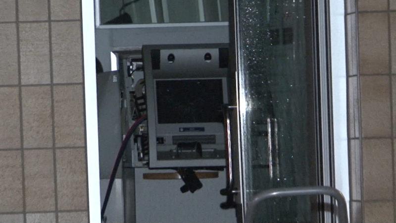 Geldautomatensprengung in Bochum (Foto: SAT.1 NRW)