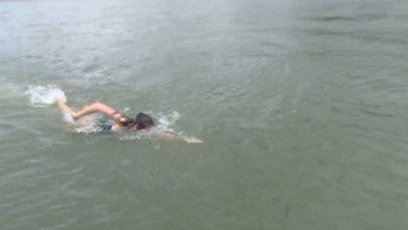 Wie gefährlich ist Schwimmen im Fluss? (Foto: SAT.1 NRW)