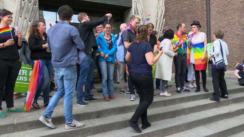 JA zur Ehe für alle (Foto: SAT.1 NRW)
