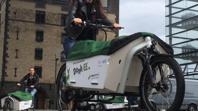E-Lastenbike (Foto: SAT.1 NRW)