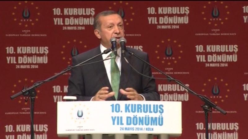 Erdogan plant Auftritt in NRW (Foto: SAT.1 NRW)