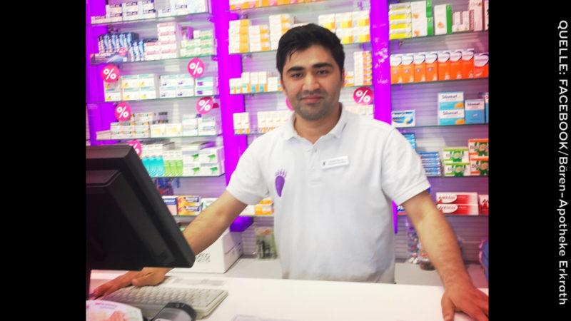 Apotheker aus Afghanistan: Plötzlich wird ihm die Arbeitserlaubnis entzogen (Foto: SAT.1 NRW)