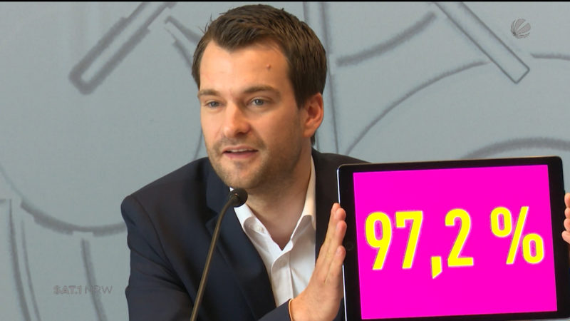 FDP stimmt Koalitionsvertrag zu (Foto: SAT.1 NRW)