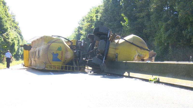Prozess: LKW-Fahrer nach tödlichem Unfall vor Gericht (Foto: SAT.1 NRW)