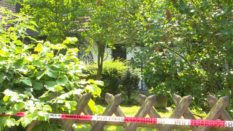 Rentner ausgeraubt und Haus angezündet (Foto: SAT.1 NRW)