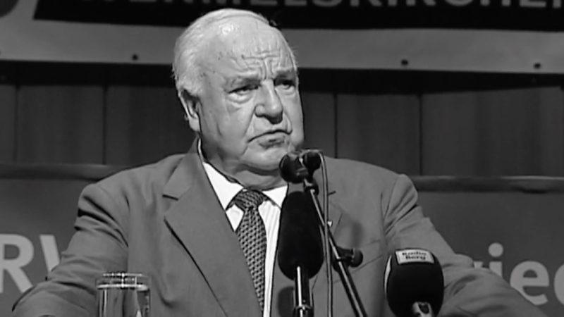 Helmut Kohl-Allee eingeweiht (Foto: SAT.1 NRW)