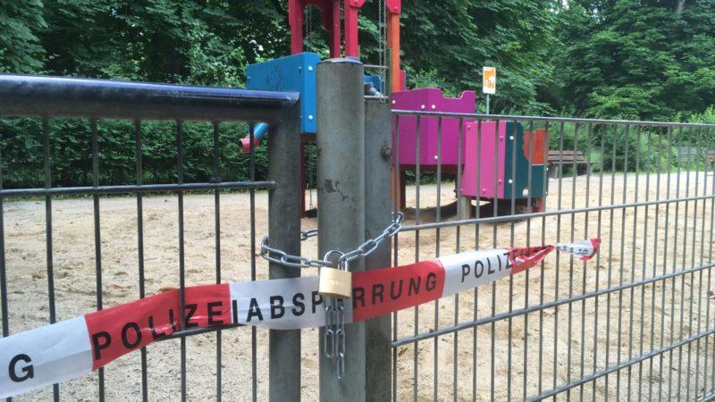 Kinder mit Rohrreiniger auf Spielplatz verätzt (Foto: SAT.1 NRW)