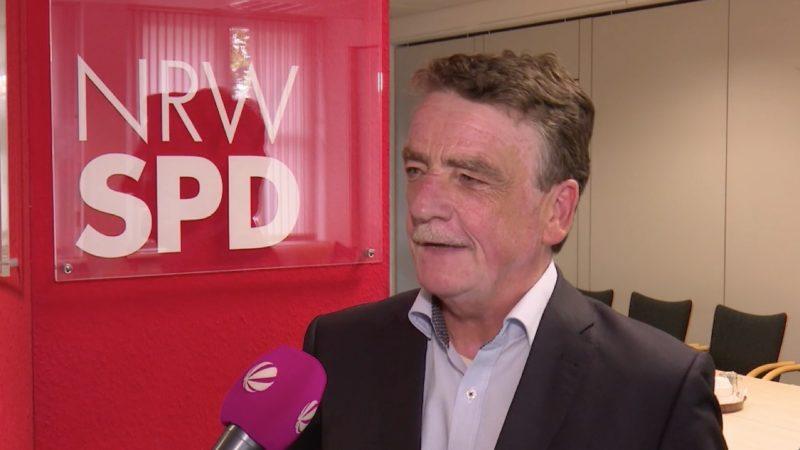 Michael Groscheks Pläne für die NRW-SPD (Foto: SAT.1 NRW)