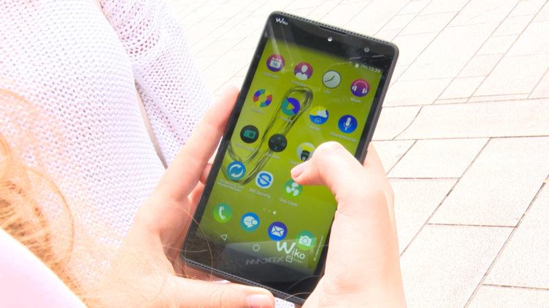 Im Test: Smartphone für 99 Euro von Wiko (Foto: SAT.1 NRW)