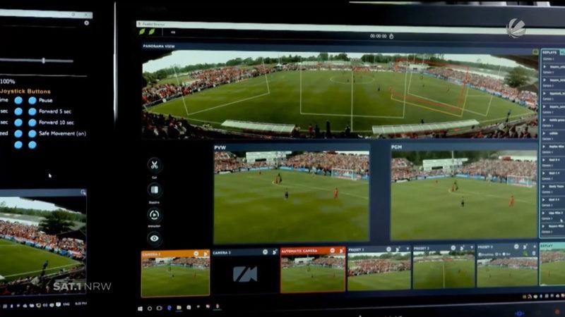 Amateurfußball im Live-Stream (Foto: SAT.1 NRW)