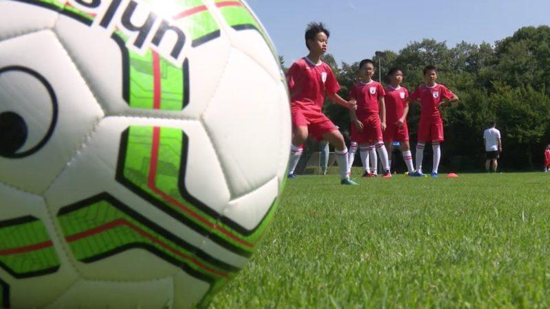China im Fußballfieber (Foto: SAT.1 NRW)
