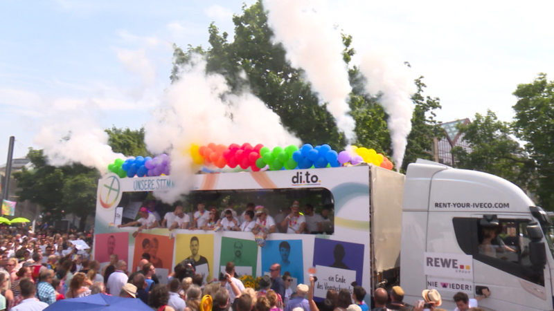 Christopher Street Day (Foto: SAT.1 NRW)