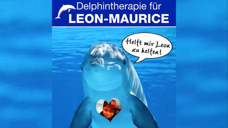 Mit Ihrer Spende kann Leons Delphin-Traum wahr werden (Foto: SAT.1 NRW)
