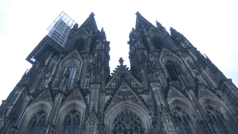 Einbruch in Kölner Dom (Foto: SAT.1 NRW)