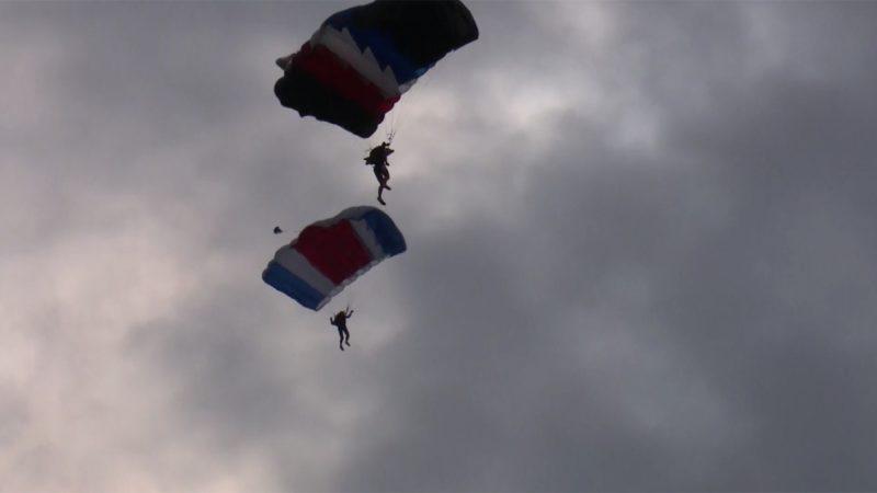Weltmeisterschaft im Fallschirmspringen (Foto: SAT.1 NRW)