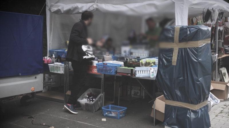 Verkauf kurioser Diebstähle (Foto: SAT.1 NRW)