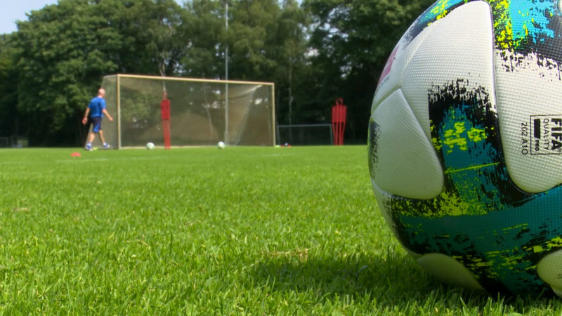 Camp für arbeitslose Fußballer (Foto: SAT.1 NRW)