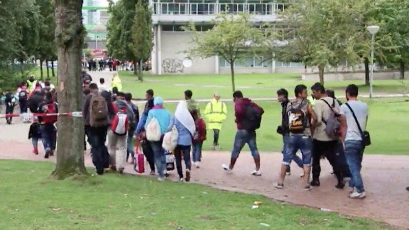 Münsterland erwartet 630 Flüchtlinge (Foto: SAT.1 NRW)