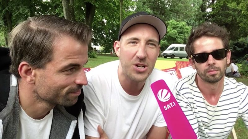 Kurioses Video: Song über Osnabrück spielt in Münster (Foto: SAT.1 NRW)