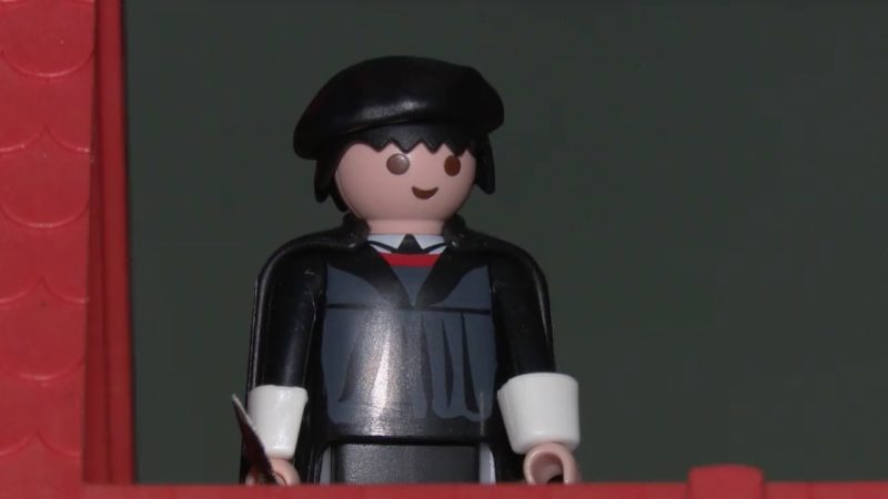 Luthers Leben in Playmobil (Foto: SAT.1 NRW)