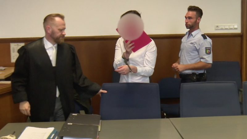 Feuerwehrmann als Brandstifter vor Gericht (Foto: SAT.1 NRW)