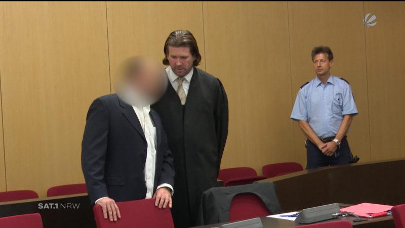 Rotlicht-Boss verurteilt (Foto: SAT.1 NRW)