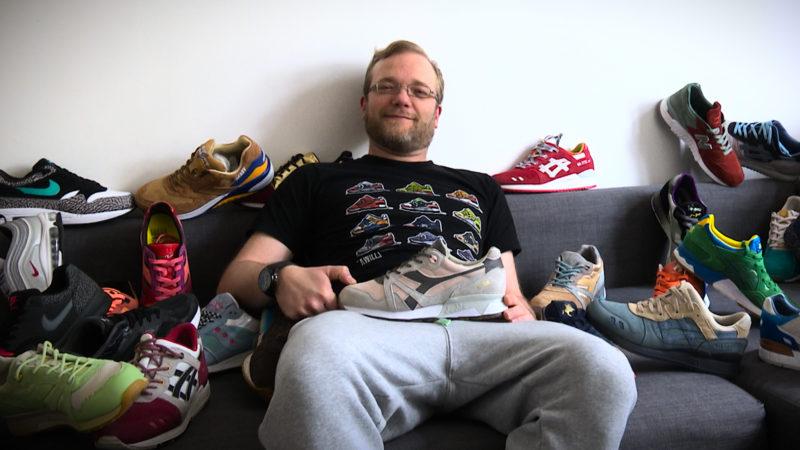 Droge: Sneaker (Foto: SAT.1 NRW)