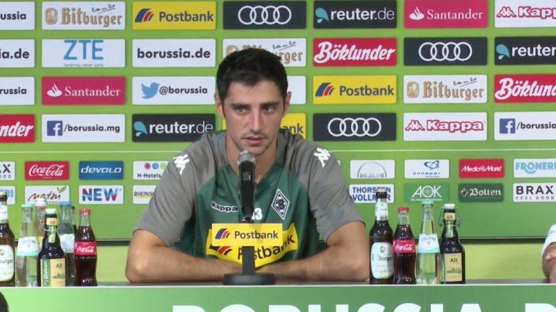 Lars Stindl zum Videobeweis (Foto: SAT.1 NRW)
