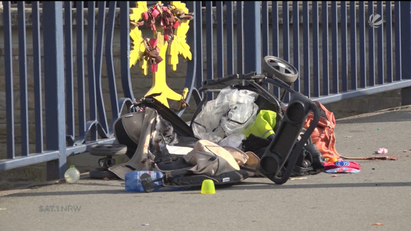 Tragischer Unfall in Hagen (Foto: SAT.1 NRW)