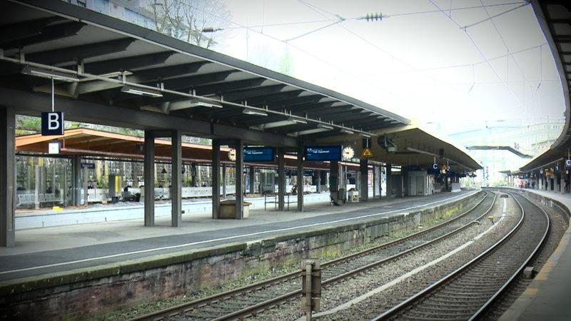 Wuppertal HBF 6 Wochen dicht (Foto: SAT.1 NRW)