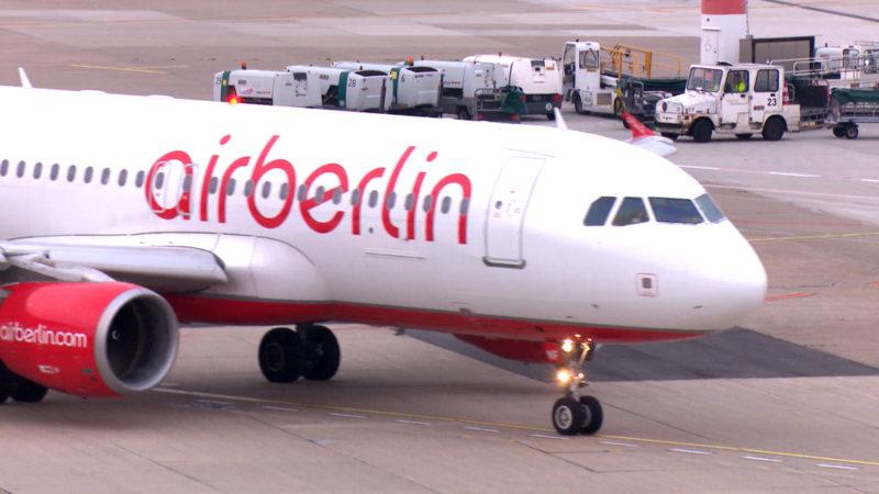 Air Berlin: Die aktuellen Fluginformationen auf einen Blick (Foto: SAT.1 NRW)
