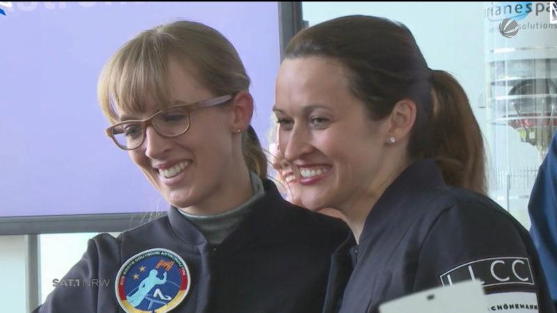 NRW-Astronautinnen beginnen Training (Foto: SAT.1 NRW)