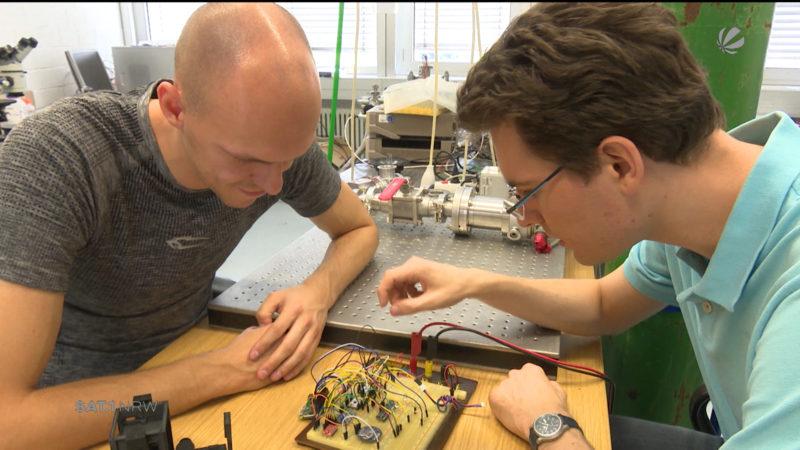 Junge Physiker kommen groß raus (Foto: SAT.1 NRW)