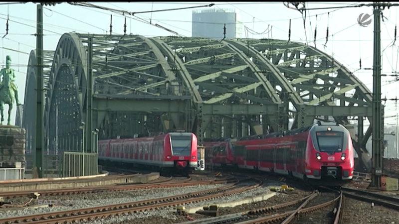 Ausbau Bahnknoten Köln (Foto: SAT.1 NRW)