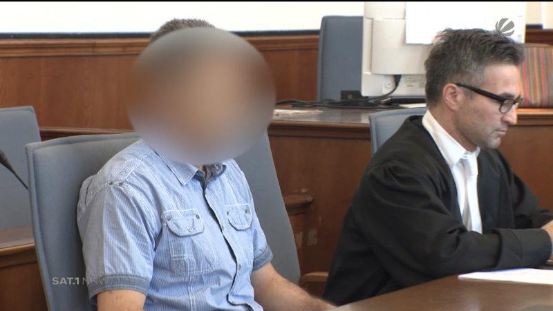 Bluttat in Hamm vor Gericht (Foto: SAT.1 NRW)