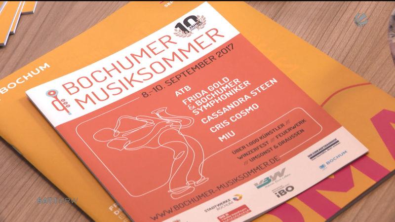 ATB und Frida Gold beim Bochumer Musiksommer (Foto: SAT.1 NRW)
