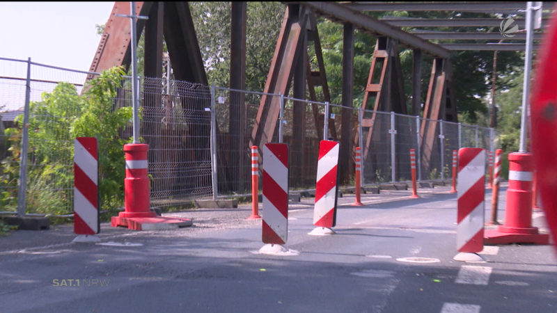 Streit um Brücke: Moerser wollen keine Duisburger werden (Foto: SAT.1 NRW)