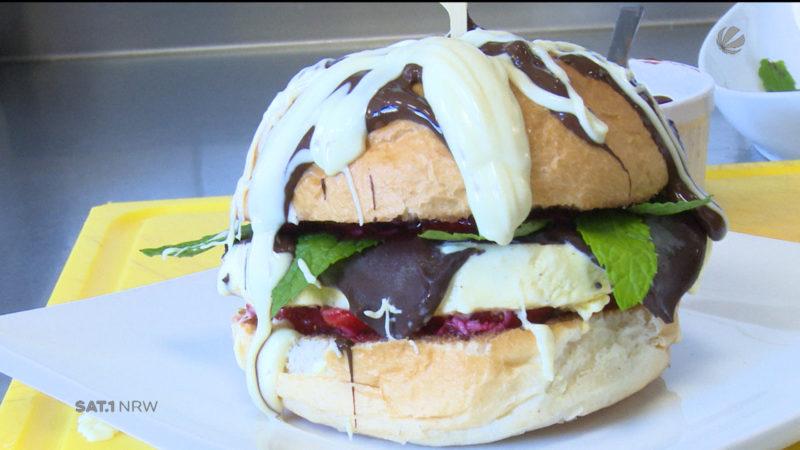 Ice Cream Burger (Foto: SAT.1 NRW)