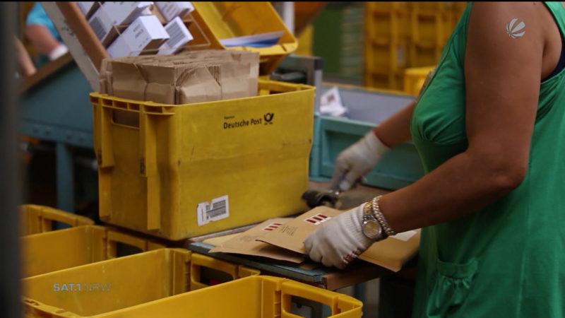 Deutsche Post - Entfristung (Foto: SAT.1 NRW)