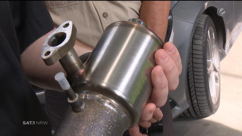 NRW-Firma rüstet Diesel um (Foto: SAT.1 NRW)