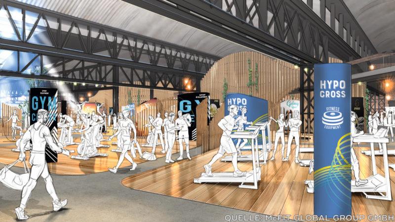 Fitnessstudio der Zukunft (Foto: SAT.1 NRW)