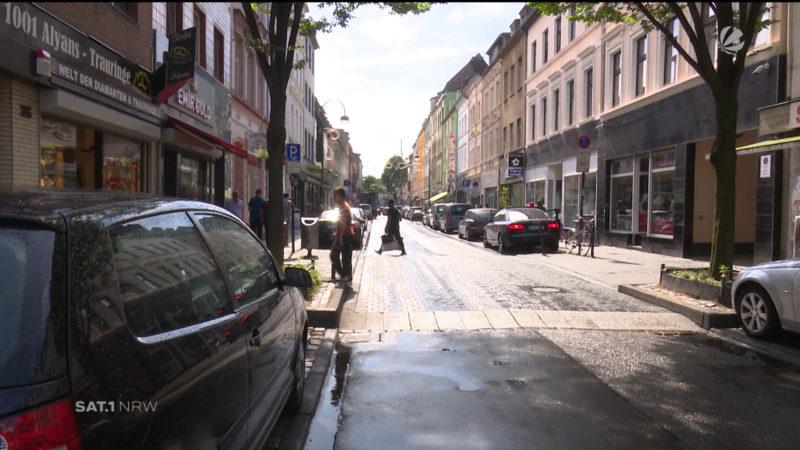 Köln: Großeinsatz in der Keupstraße (Foto: SAT.1 NRW)