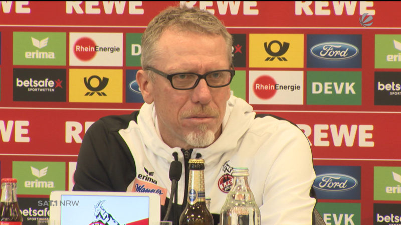 1. FC Köln vor Europa League Auslosung (Foto: SAT.1 NRW)